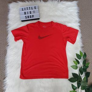 Woman's Nike Red Dri-Fit Athletic Short Sleeve Tee